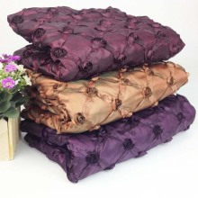 1Yard 91*130cm,Crepe Taffeta Ribbon Embroidery Fabric,Decorative Taffeta Table Cloth Fabric,Wedding Patchwork Sewing Table Cloth