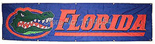 Florida State University Gator Banner Flag 240X60CM Banner 100D Polyester flag brass grommets 001, free shipping(China)