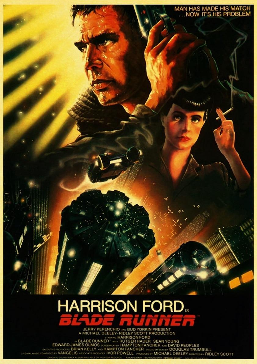 Blade Runner 2049 Movie Poster Canvas Premium Quality A0-A4.