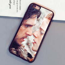 Game of Throne Jon Snow and  Ygritte Mobile Phone Case For iPhone 6 6S Plus 7 7 Plus 5 5S 5C SE 4S Soft Rubber Skin Back Cover