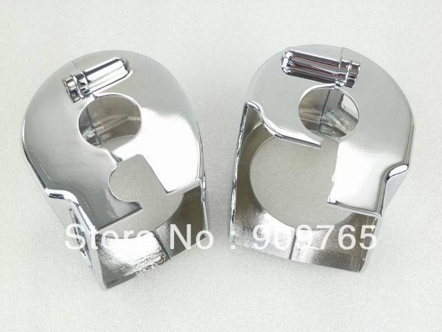 Free Shipping 1 Pair Chrome Housing Switch Cover for Kawasaki Vulcan VN 1500 1999-2007 1600 All Years &amp; Models Named Classic<br><br>Aliexpress