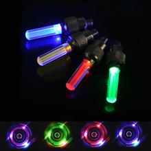 2PCS Bicycle Light LED Bicycle Wheel Tire Valve Light Flashing Stem Car Motorcycle Decorate Bike Gorgeous Bicycle Accessories