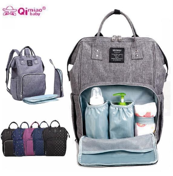 Diaper Backpack Fashion Mummy Maternity Nappy Bag Brand Baby Travel Bags for Mom Backpack Nursing Bag for Baby Care<br>