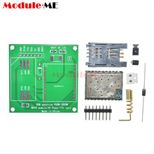M590E GSM GPRS Frequency Module Board SMS Message Diy kits M590 Standard AT Instruction Set CPU MCU For TTL Test 5V 1A(China)