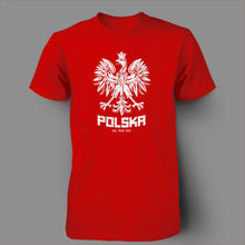 Polska Polish Dance Soccer Poland Football T-shirt Men 100% Cotton Printed Custom T Shirt Short Sleeve Size S~3XL(China)