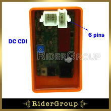 Adjustable 6 Pin DC CDI ECU REV Box For Honda Helix CN250 Elite CH250 Scooter