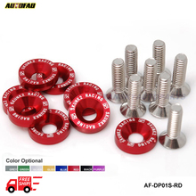 AUTOFAB-SK2 8PCS/SET Universal Fender Washers Bumper Washer Lisence Plate Bolts Kits For CIVIC ACCORD AF-DP01S-SK2-FS