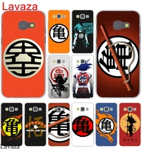 Lavaza training gym symbol dragon saiyan Dragon Ball Hard Case Cover for Galaxy A3 A5 J5 (2015/2016/2017) & J3 J5 Prime A7 J7(China)