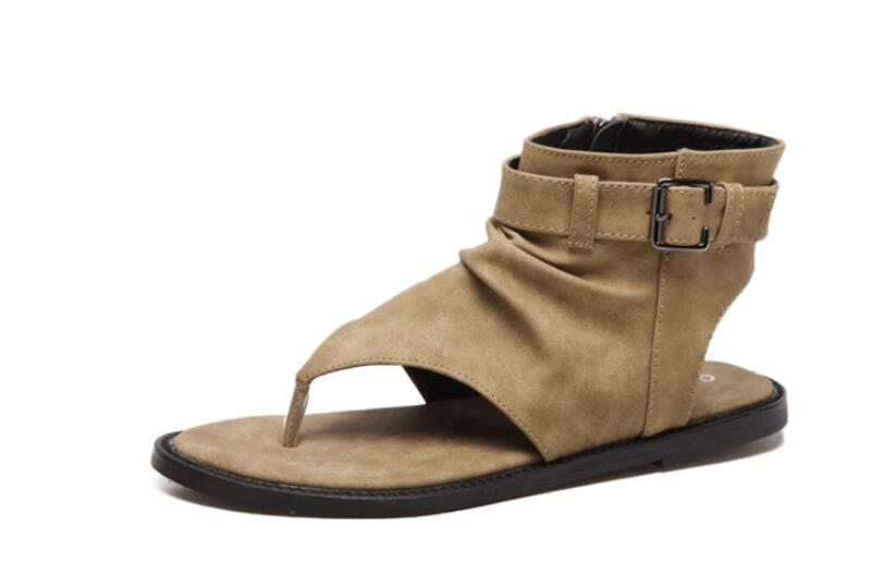 2017 summer fashion new  womens shoes are high in cool boots, and the style of the Roman style with toe and womens sandals<br>