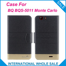Super 5 Colors! BQ BQS-5011 Monte Carlo Case, Fashion Business Magnetic clasp High quality Leather Exclusive Protective Cover