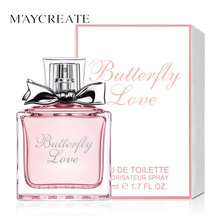 MayCreate 50ml Women Perfume Fresh Elegant Flower Fragrance Parfume long Lasting Makeup Female Perfume Women Spray Glass Bottle(China)