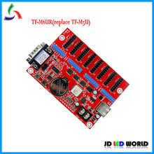 TF-M6UR(TF-M3U) USB(U disk)+Serial(RS232) communication led display sign controllr card