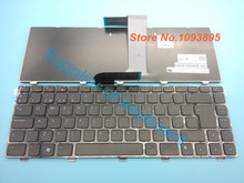 Free Shipping New Spanish keyboard For Dell Inspiron 14 3420 15 3520 Laptop Latin Spanish Keyboard(China)