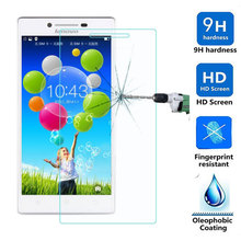0.3mm Screen Protector Explosion-Proof High quality 2.5D 9H Curve edge Tempered glass film for Lenovo P70 P70T