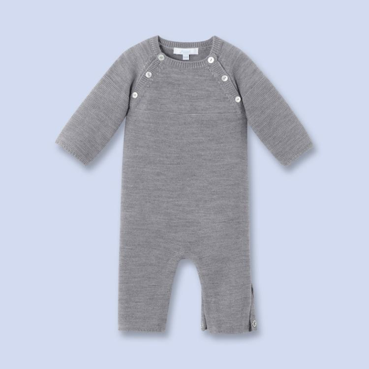 Autumn and winter children universal newborn baby baby romper Merino wool long sleeve opening Siamese Jumpsuit<br><br>Aliexpress