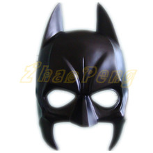 Super hero Batman Adjustable size mask High quality resin Halloween full Face Mask Cartoon Mask For Children's Day Cosplay(China)