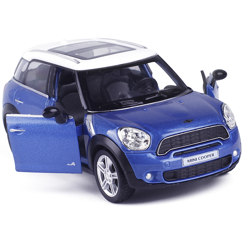RMZ City Mini Cooper Countryman 1/36 Scale 5 Inch Diecast Model Car Toys Best Gift for Children(China (Mainland))