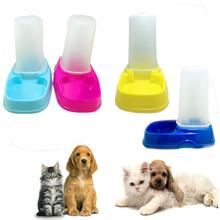 Pet Cat Dog Food Water Bowl Easy Clean Travel Supply Portable Automatic Pet Feeder 2AU10(China)