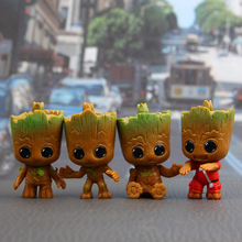 Paragraph 4 of the Milky Way guard groot hand cart pendulum Korean doll Shu Jushi interior decorations doll(China)