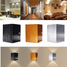 Modern LED Aluminum Wall Light Sconce Colorful Ceiling Lamp Fixture Warm White Dining Hall Bar Coffee Shop Bedroom Home Decor
