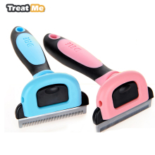 Hairs Comb For Pet Dog Cats Hair Grooming Brush Pet Detachable Hair Clipper Remove The Floating Comb Kitten Hair Trimmer(China)
