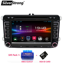 FreeShipping 2Din Android Car DVD Player for Volkswagen Passat JETTA Golf MK5 MK6 B6 B7 Car Android DVD GPS Navigation VW Radio