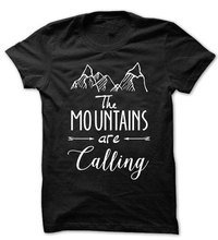 Mountains T Shirt Tees Funny Humor Gift Present Mountain Outdoors Unisex T Shirt T2017 T2017(China)