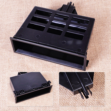 Black Center Tray Dashboard Storage Cubby Box Fit for VW Jetta Golf MK4 Passat B5 Bora Sharan Transporter 3B0857058 1J0857058A