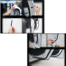 Car Styling door edge rubber scratch Stickers for audi a3 8l kia sportage clio 4 bmw z4 e46 renault megane 3  Accessories