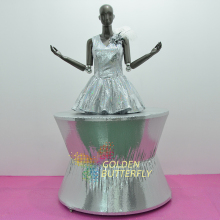 Mobile Booth Costume Luminous Spangle Dress 2015 Fashion Women Clothing Show Halloween Mardi Gras Carnival Costumes
