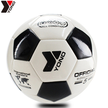 High Quality New 2017 Official Size 5 Football Ball PU Granule Slip-resistant Football Seemless Match Training Soccer Ball