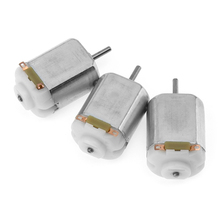 3pcs 130 Small 1 to 6V DC Motor with 2mm Shaft for Model Toys(China)
