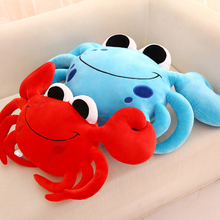 Cute Animal Pillows Plush Crab Stuffed Toy Cute Gifts Juguetes Large Stuffed Animals Almofada Infantil Toys For Children 60G0637
