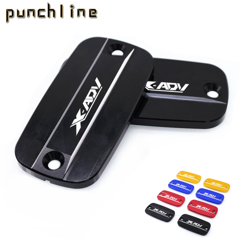 For HONDA X-ADV XADV 2017 Motorcycle Accessories Front Brake Clutch Cylinder Fluid Reservoir Cover 4 Colors<br>