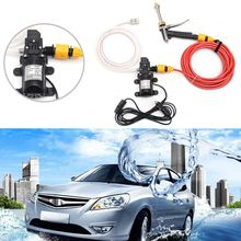 Universal 12V 60W High Pressure Washer Spray Tool Electric Car Water Cleaner Wash Pump Kit
