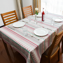 2016 Winter New Christmas Pattern Table Cloth High Quality Hot Sale Tablecloth Table Cover manteles para mesa Free Shipping(China)