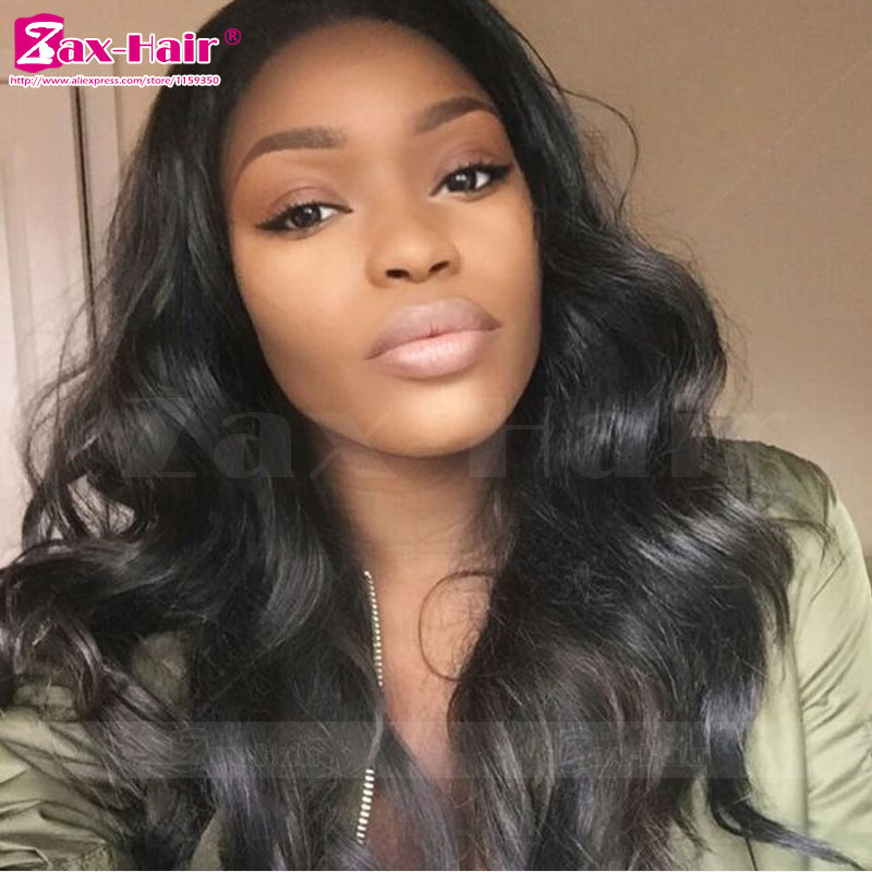 Unprocess Human Hair Full Lace Wigs 7A For Black Women Virgin Human Hair Lace Front Wigs In Stock Wavy Baby Hair Full Lace Wigs<br><br>Aliexpress