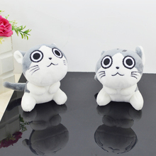 creative cute couple cats plush dolls key car bag decorative pendant for women super soft plush ornaments plush toys