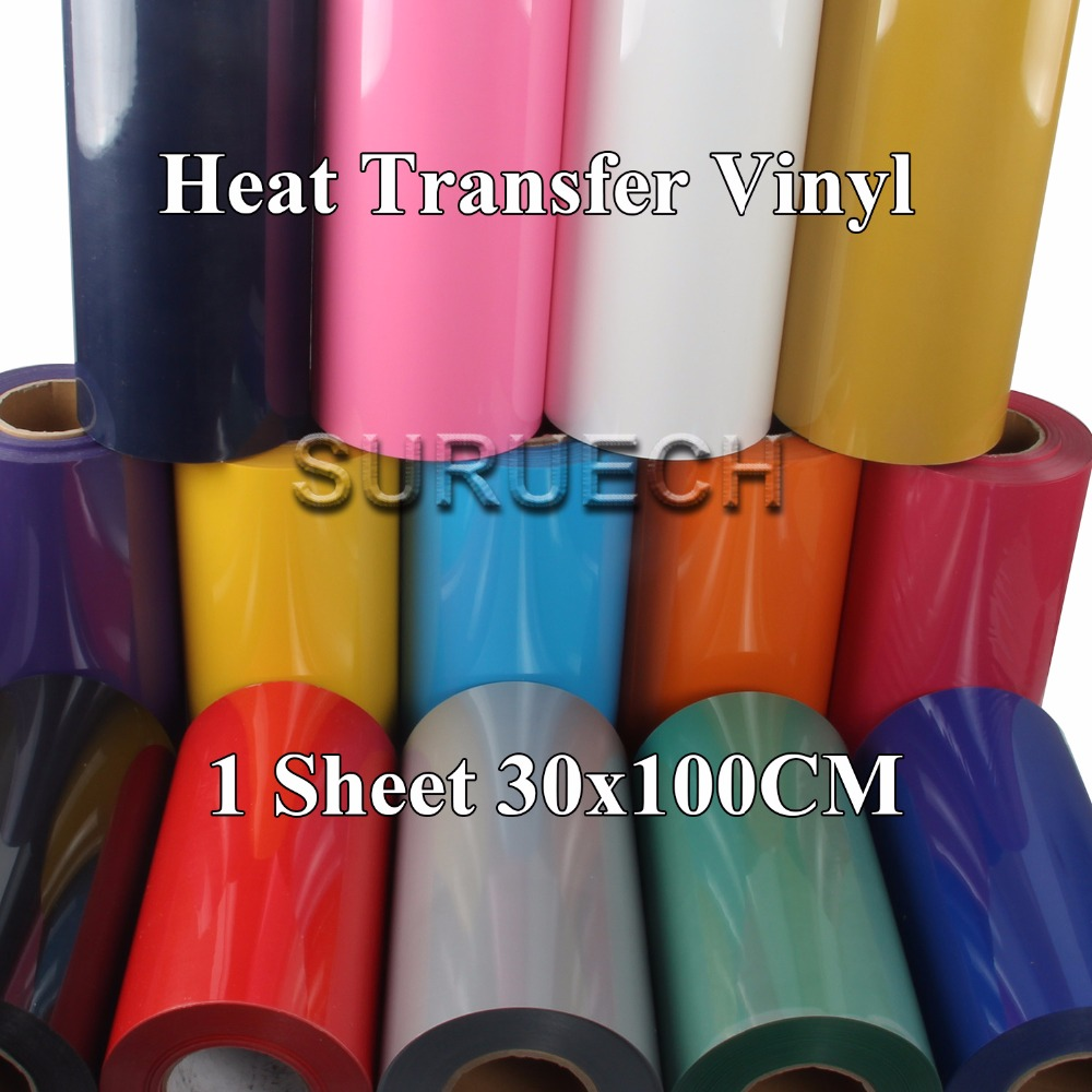 Plotter-Cutter T-Shirt Foil-Film-Paper Heat-Press-Machine Cutting Vinyl PVC 30cmx100cm title=
