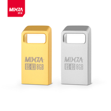 Brand Mixza Original Mini USB Flash Drive 64GB 32GB 16GB 8GB 4GB Memory Stick Waterproof Metal Tiny Pen Drive Disk 32GB U Disk