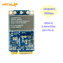 AR5418 AR5BXB72 AR5008 300 Mbps 802.11a/b/g/n Dual band Wi-fi Sem Fio WLan Mini-pci-e Cartão para A Apple Mac Dell Acer Asus