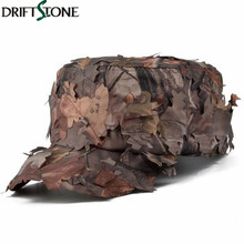 Tactical Conceal Camouflage Flat Cap Quick Dry Paintball Army Combat Snapback Hat Men Jungle Bionic Camo Sniper Baseball Cap
