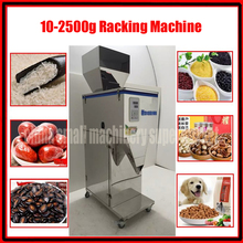Good quality 20-2500g Intelligent grain packaging machine dog food granule filling machine Semi-automatic powder Racking Machine