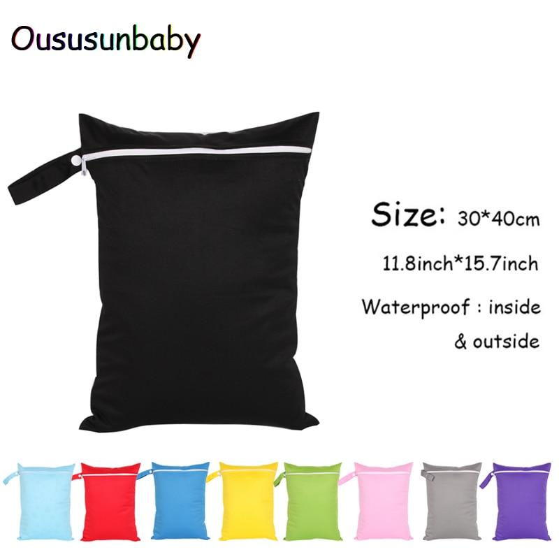 Oususunbay 1pc 30*40cm Baby Cloth Diaper Bag Singl...