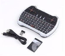 50pcs/lot 2.4G V6 Mini Wireless Keyboard Touchpad Handheld Gaming Air Mouse I8 pro Remote control for Android TV Box iPad Gamer