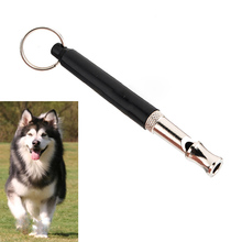 Hot Sale Promotion Beeper Ultrasonic Dog Repeller 90mm Pet Dog Training Adjustable Whistle Pitch Ultrasonic Sound(China)