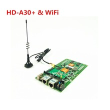 LYSONLED Special Offer Huidu HD-A30+ & WiFi Mode Asynchronization Full Color LED Display Card,  Wifi RGB LED Controller Card