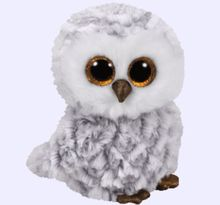New  Beanie Boos Plush Animals Owlette the Owl Toy 6'' 15cm Cute Big Eyes Stuffed Animal Soft Toys for Children Kids Gifts