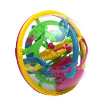 2016 New 3D Magic Intellect Maze ball Puzzle Game Educations for Kids IQ Trainer Kids Party Supply(China)