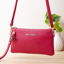 Female Bag Leather Mini Packet Aslant Tassel Han Edition Source Our Company Supply Ladies Hand Bag